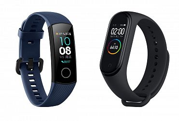 Сравнение Honor band 4 vs Xiaomi Mi Band 4